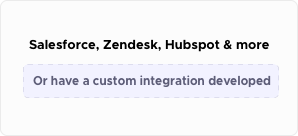 Custom-Integrations