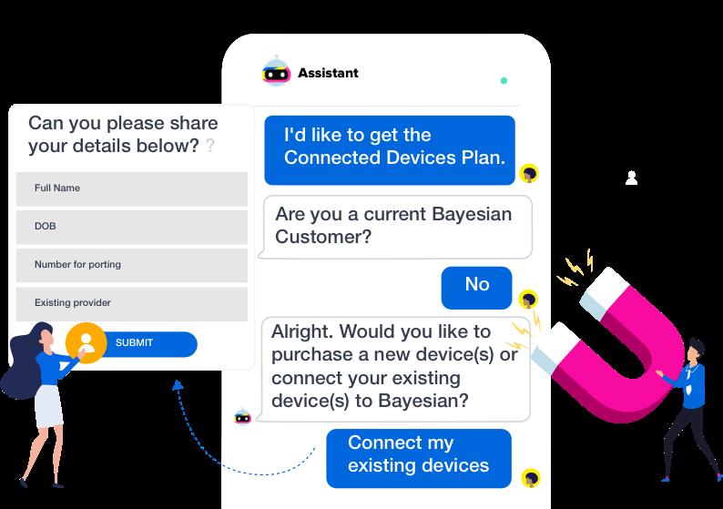 telecom helpdesk chatbot