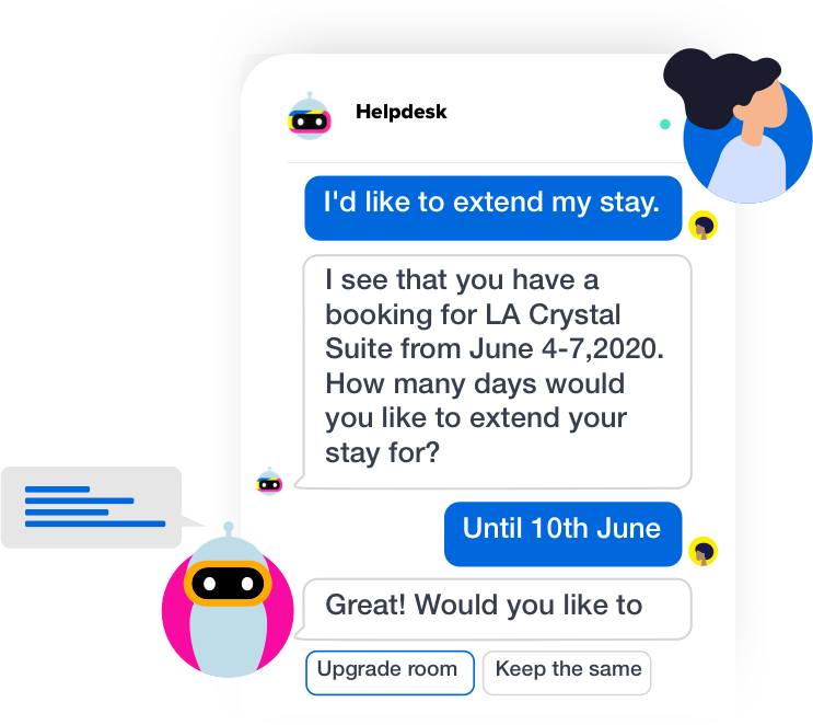 live chat and messaging in travel industry